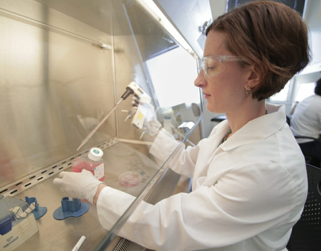 Biomedical engineering professor and Biotechnology Training Program trainer Kristyn Masters