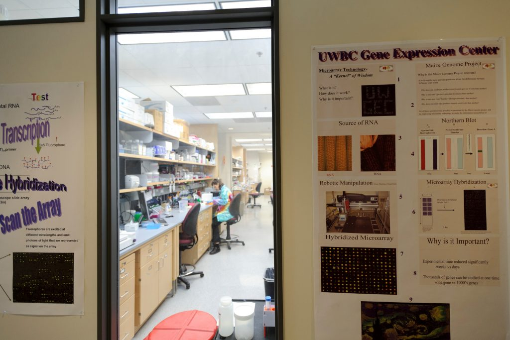The Gene Expression Center at the Genetics-Biotechnology Center Building