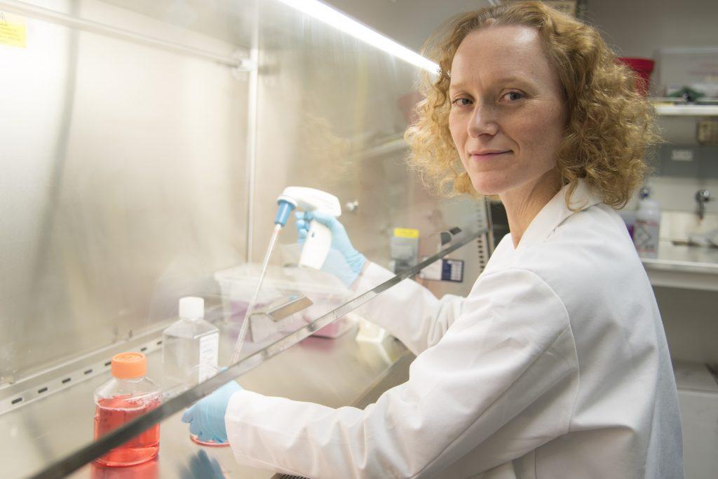 BTP Trainer and professor of biomolecular chemistry Heidi Dvinge.